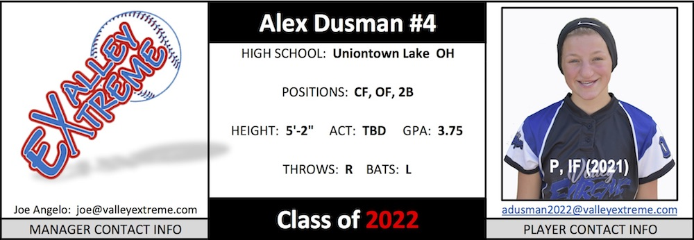 2022 Alex Dusman from Valley Extreme Angelo.