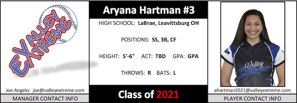 2021 Ary Hartman from Valley Extreme Angelo.