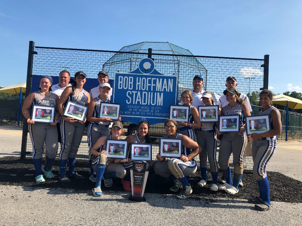 Valley Extreme Angelo takes 2nd place at ASA Nationals in 2018.
